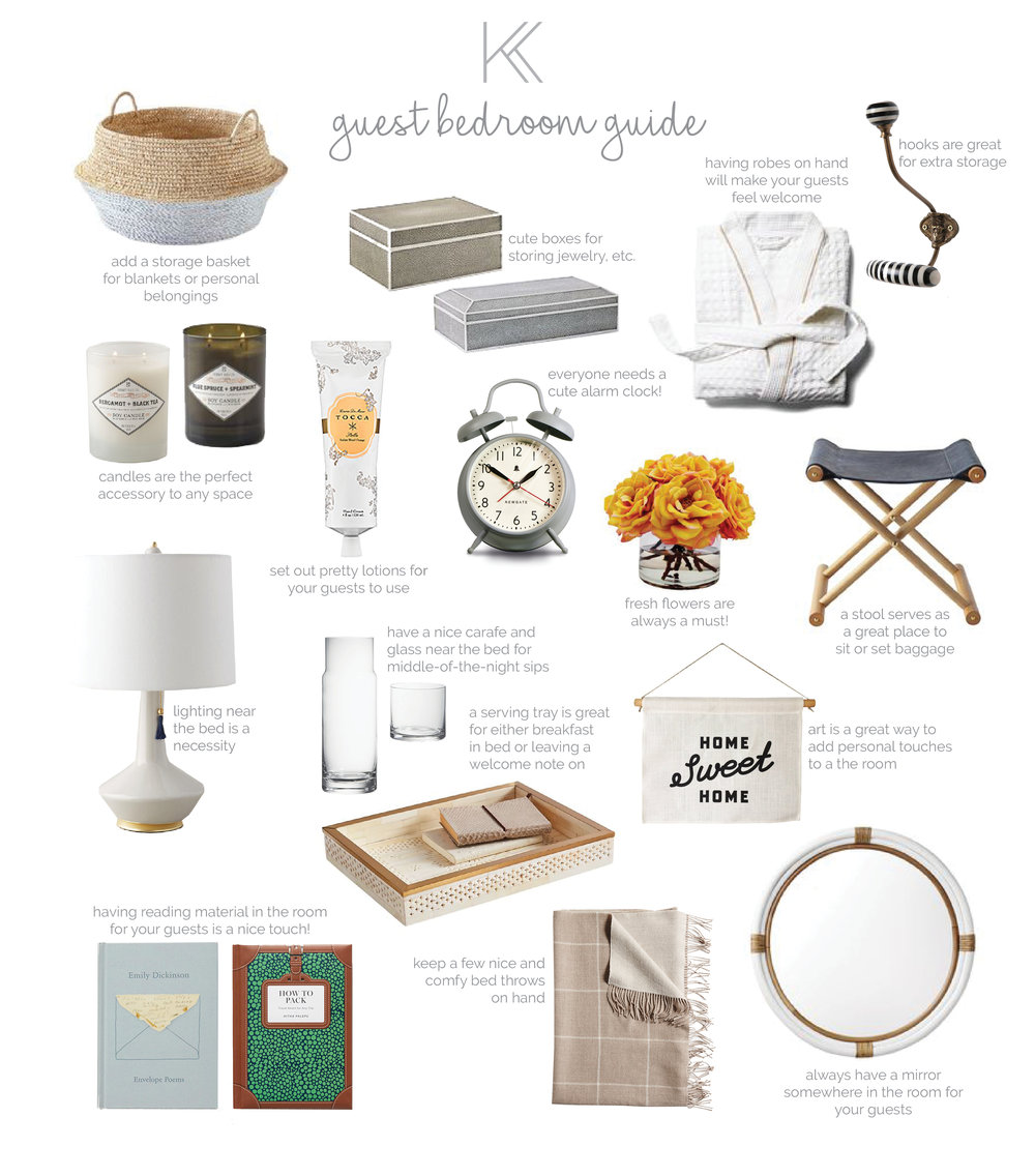 Kris and Kate's Guide to a Cozy Guest Bedroom