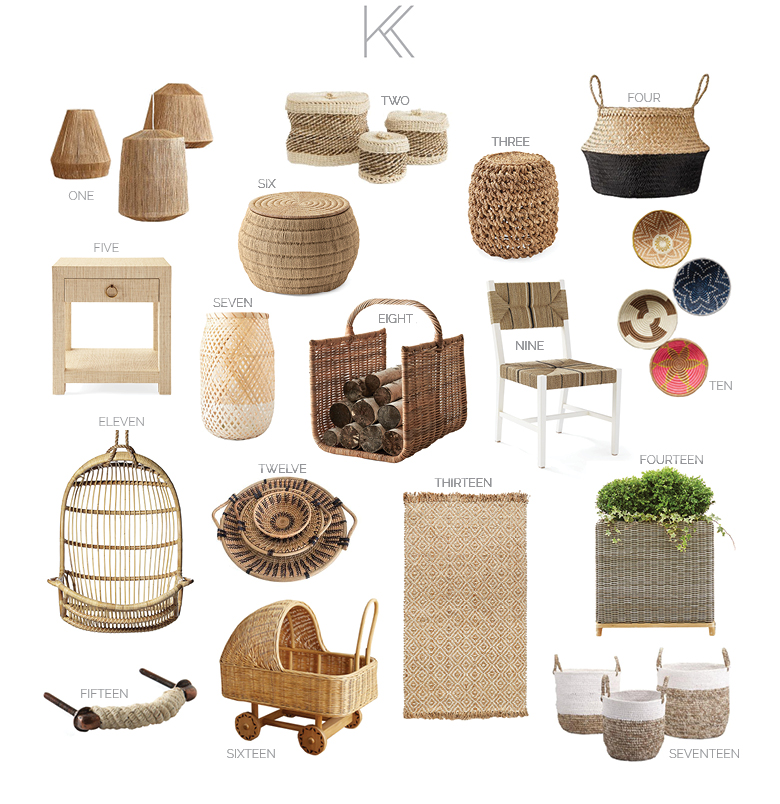 Natural Materials - Items