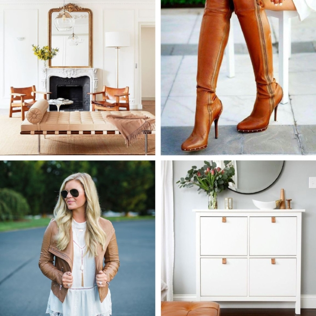 kris and kate studio_brown leather fashion vs interior trends