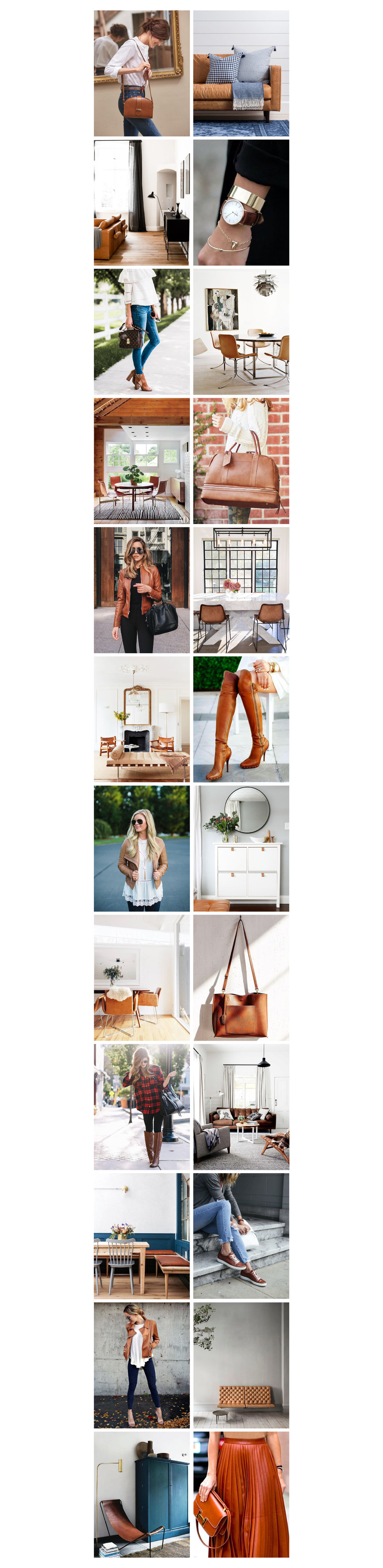 kris and kate studio_fashion vs interior trends_brown leather