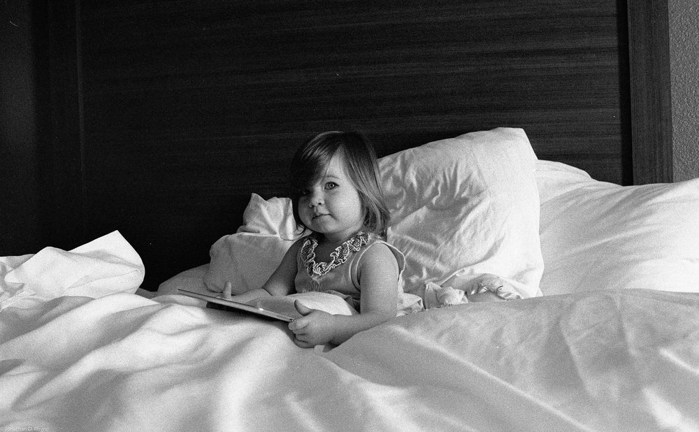 Easy Like Sunday Morning.  Asheville, NC - Nikon FM2 shot with AFGA APX 400 pushed to 800.