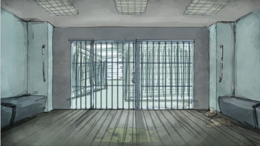 Jail Cell Rough Layout