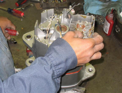 Rebuilding a Delco 30si Alternator