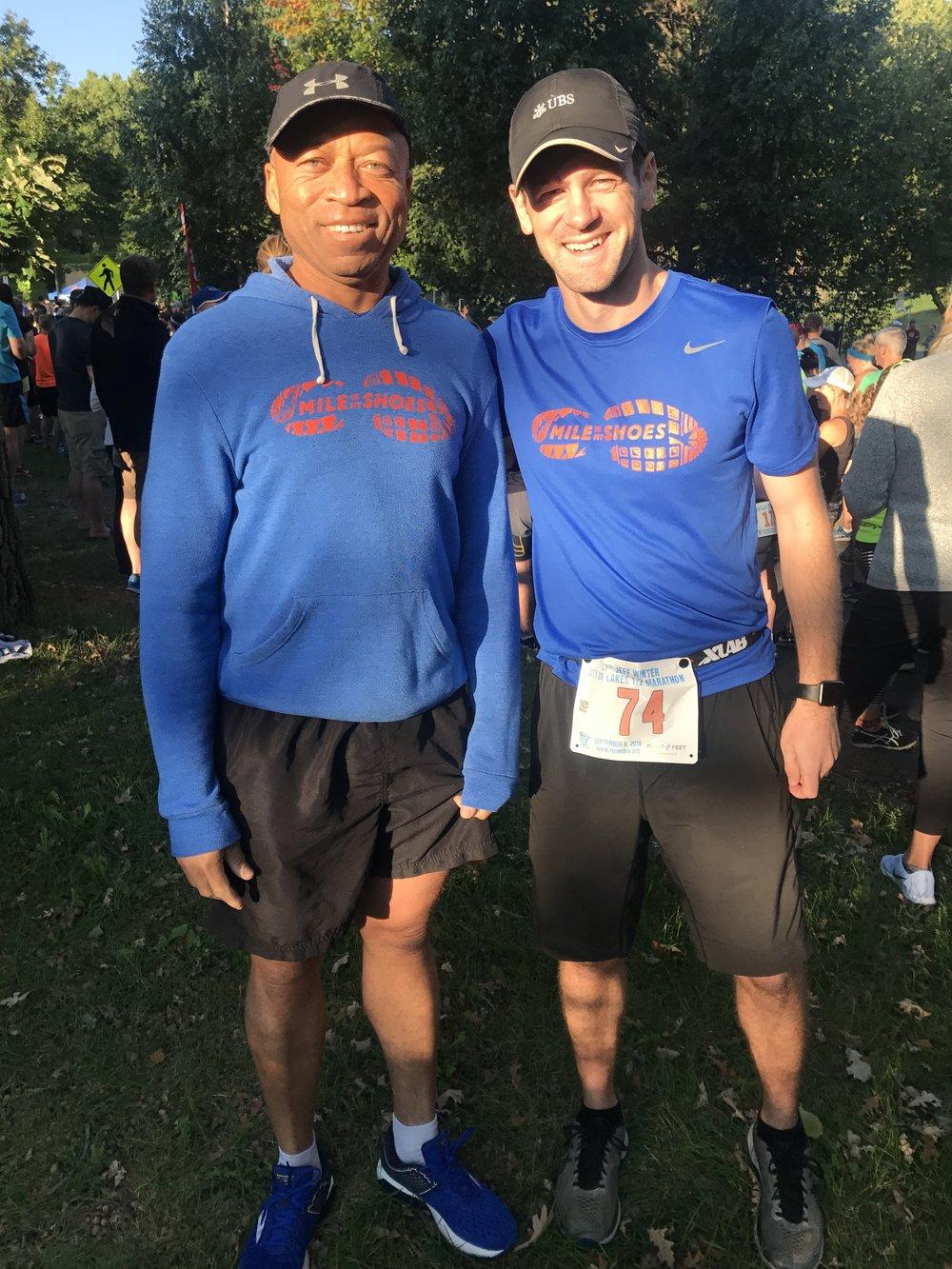 Peter (left), Team Higher Ground Minneapolis