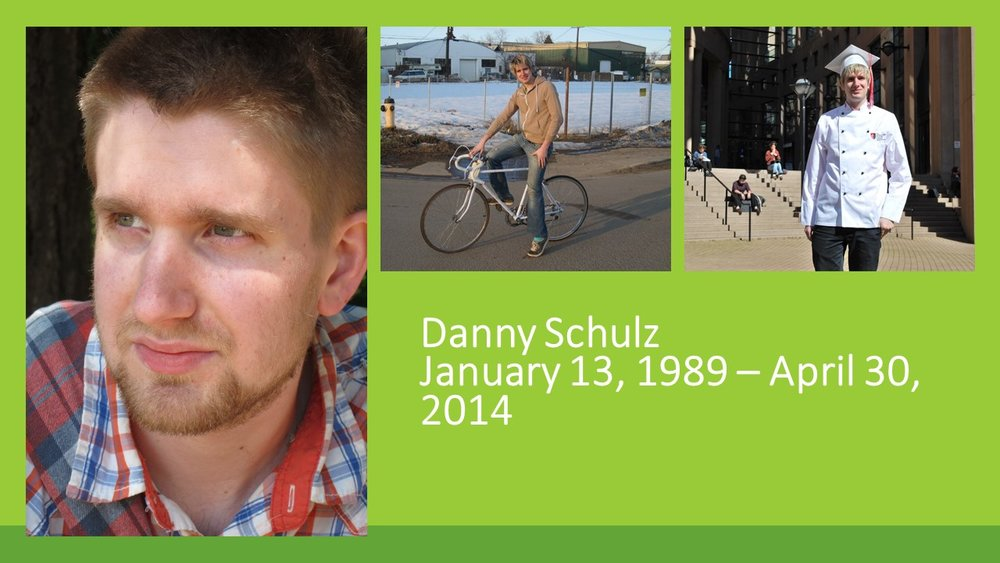 "Our youngest child Danny died from accidental drug poisoning in 2014. Danny was 25 years old.    Danny was in recovery when one more pill, which he thought was a fake OxyContin, but was in fact Fentanyl, took his life.  We did not know about the increased risk in recovery, when the person's tolerance for the drug is lowered and when they are less informed about the scene and dangerous drugs.  He was one of the early victims, before Fentanyl made the news, and before there were any health warnings. Those came several months after his death.  After Danny died we decided to be open about the cause of his death. We wanted to end the silence and the stigma. Friends and family, and his workplace were surprised. Danny did not look like an ""addict"" - a word I don't care for much.  How does a person who struggles with substance use look like? In most cases, it is an invisible condition. When Danny died, he had been in recovery for a year and a half. He was a chef in one of Edmonton's best restaurants, and he lived in a downtown apartment.  What worked for Danny was opioid agonist treatment with Methadone combined with counselling, which we paid for  privately. The only thing the public health system offered at the time was a list of 12 step groups, that are not evidence based and would not have taken him on methadone.  What did not work was the fact that both he and we were keen to have him ""drug free"" and he did not stay on the Methadone long enough to be stable.  For a while it seemed that we had the old Danny back, the kid we knew before he became dependant on drugs. On the outside, he looked like a successful young man, but he was struggling. His addiction started as his way of dealing with his severe social anxiety, but there were other risk factors: A learning disability, being gay, working in an environment were drug use is prevalent. Being impulsive and risk seeking.  He told me once that after he took an opioid he could just walk into any room and be himself, and I wondered if being yourself is too much to ask. Should we not help people to deal with their mental health issues, before they turn to drugs?  What I have since learned is that one of the greatest barrier to providing more effective supports is the stigma of mental health and substance use.   It is because of stigma that people, like Danny, use and die alone."