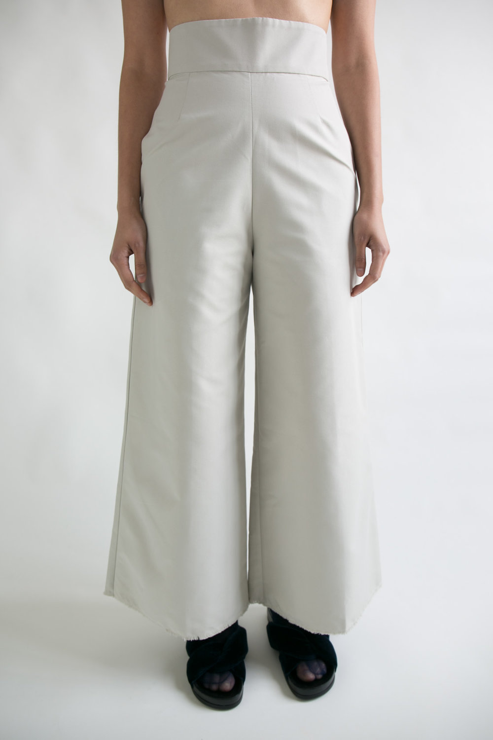 Nica Pant Ivory  XS S M  $345