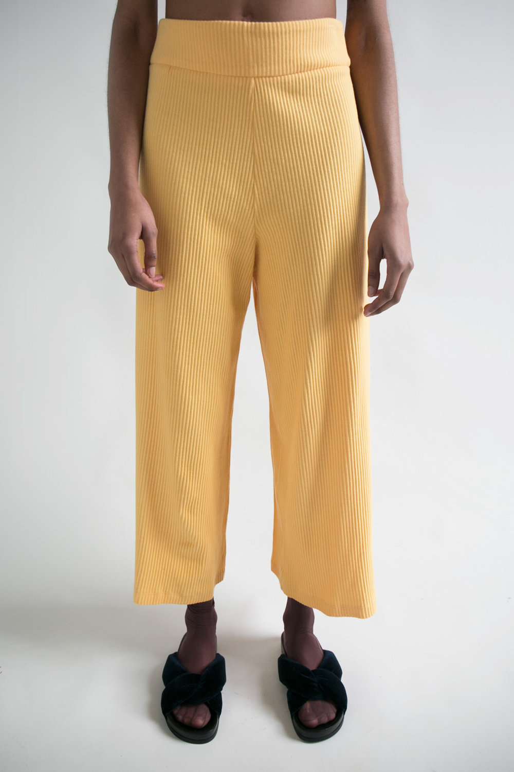 Basic Color Pant in YEllow  XS S M L  $228