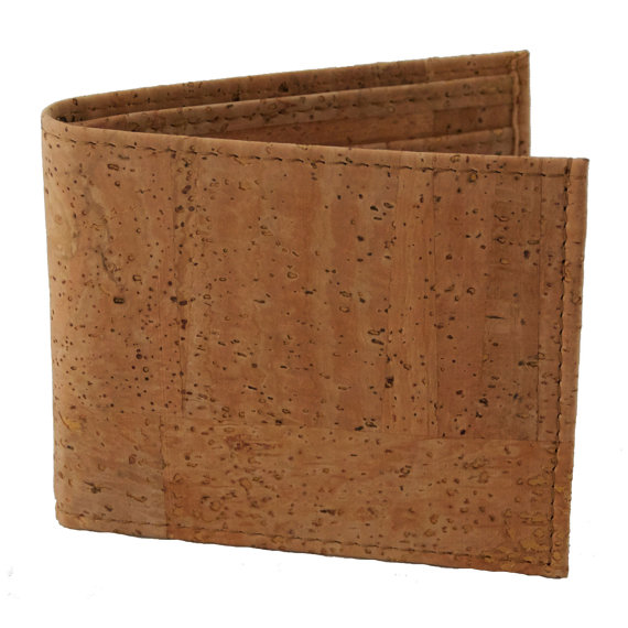 WALLET MADE OF SUSTAINABLE CORK - Handmade in Madrid - $60