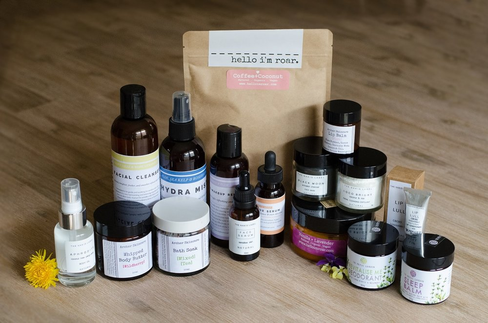 VEGAN SKIN CARE PRODUCTS - Handmade in Australia - From $5.65