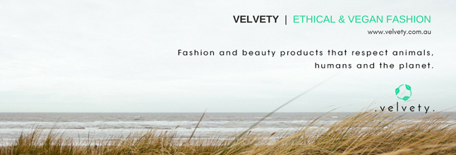 velvety ethical and vegan fashion