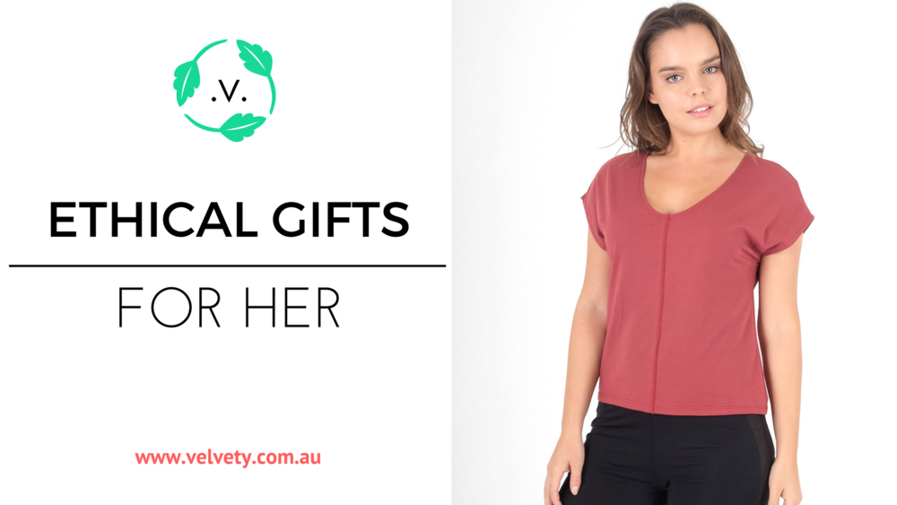 vegan gifts for her. Ethical fashion