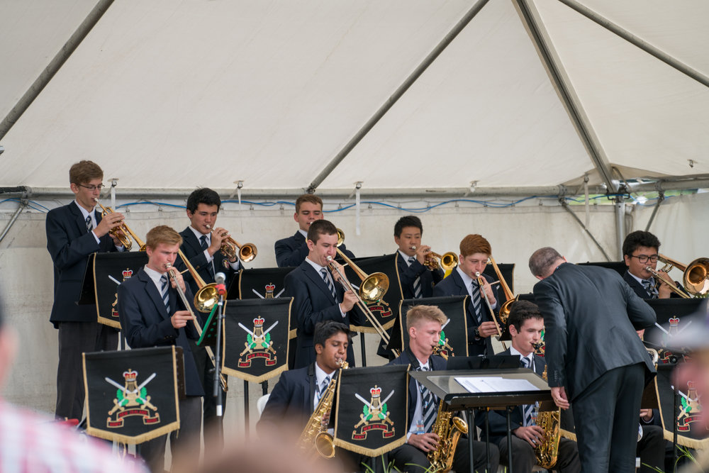 Palmerston North Boys High School stage band