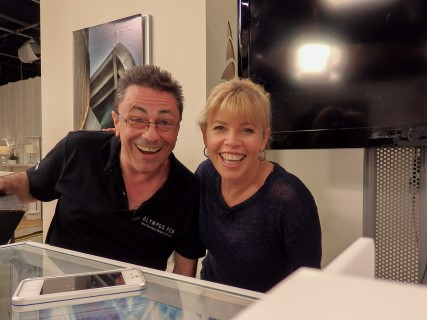 Me with Moira of TVSN
