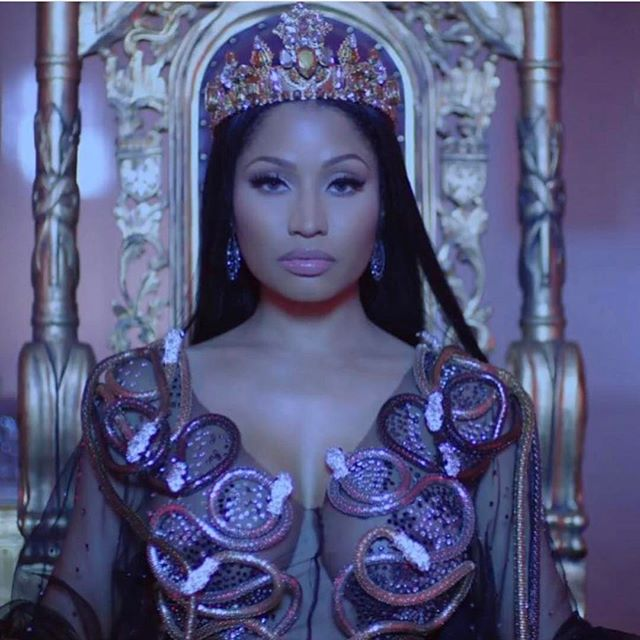 #nofrauds video out now!! @nickiminaj 👑 @nealferinah @maher_1 @etienneortega