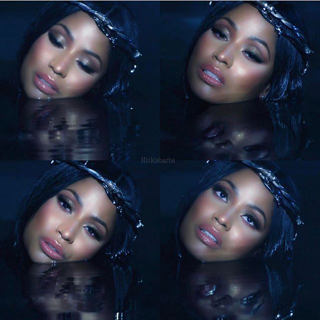 #regretinyourtears video out now on Tidal @nickiminaj 👑 directed by @mertalas  Hair @nealferinah  Styled @maher_1  Makeup @etienneortega