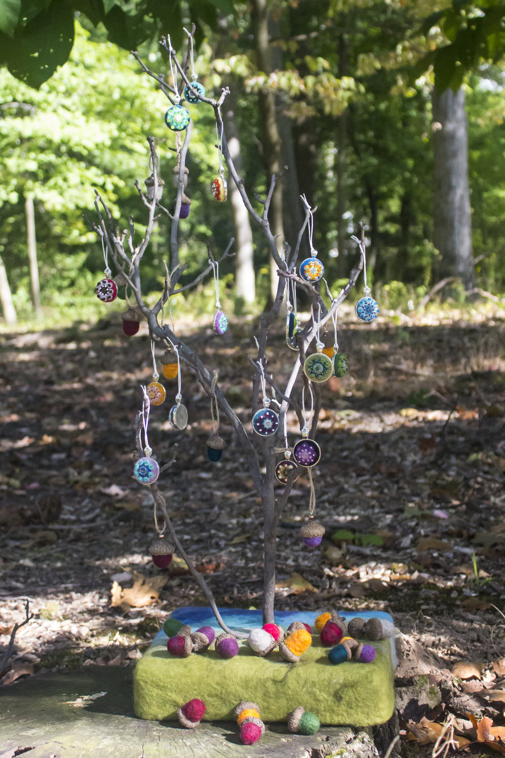Pendants galore, and the tree display to go with it!