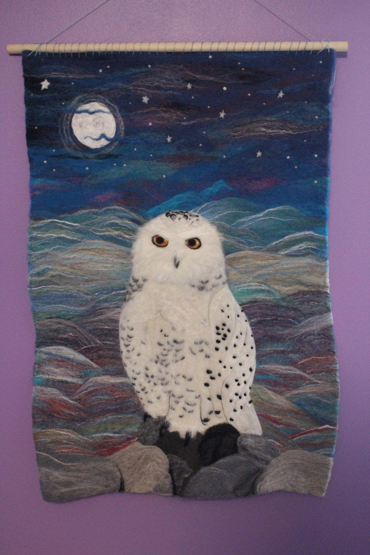 Star Magnolias Snow Owl