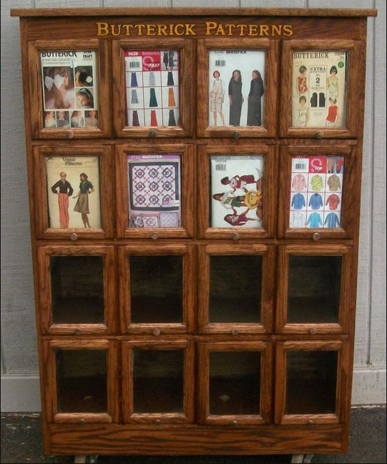 pattern display cabinet