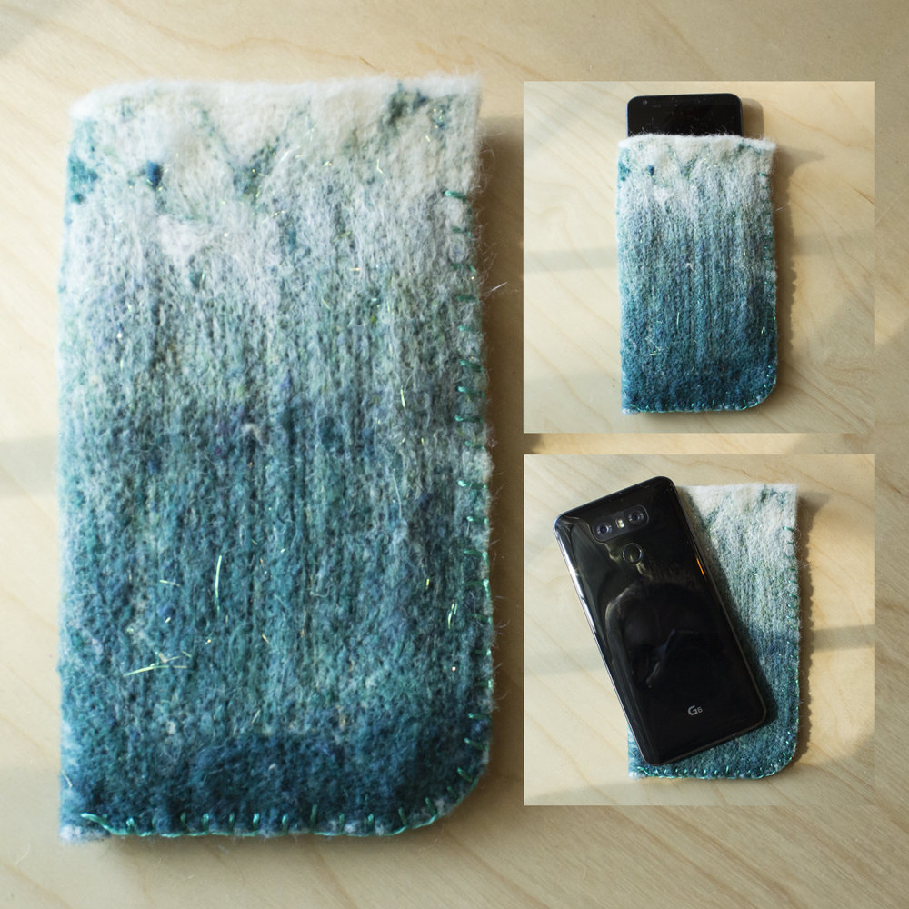 DIY Felt Phone Sleeve
