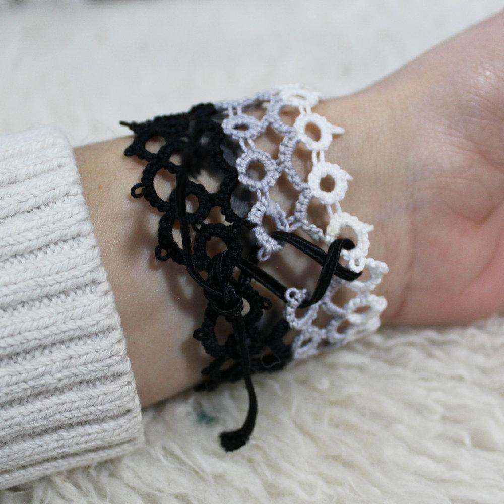 back of bracelet star magnolias