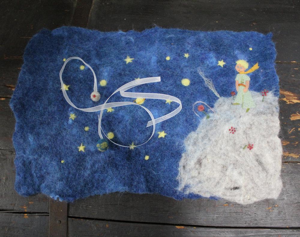 little prince felt cover star magnolias