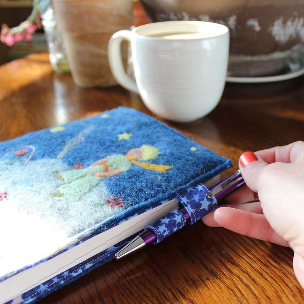 Little Prince felt planner cover