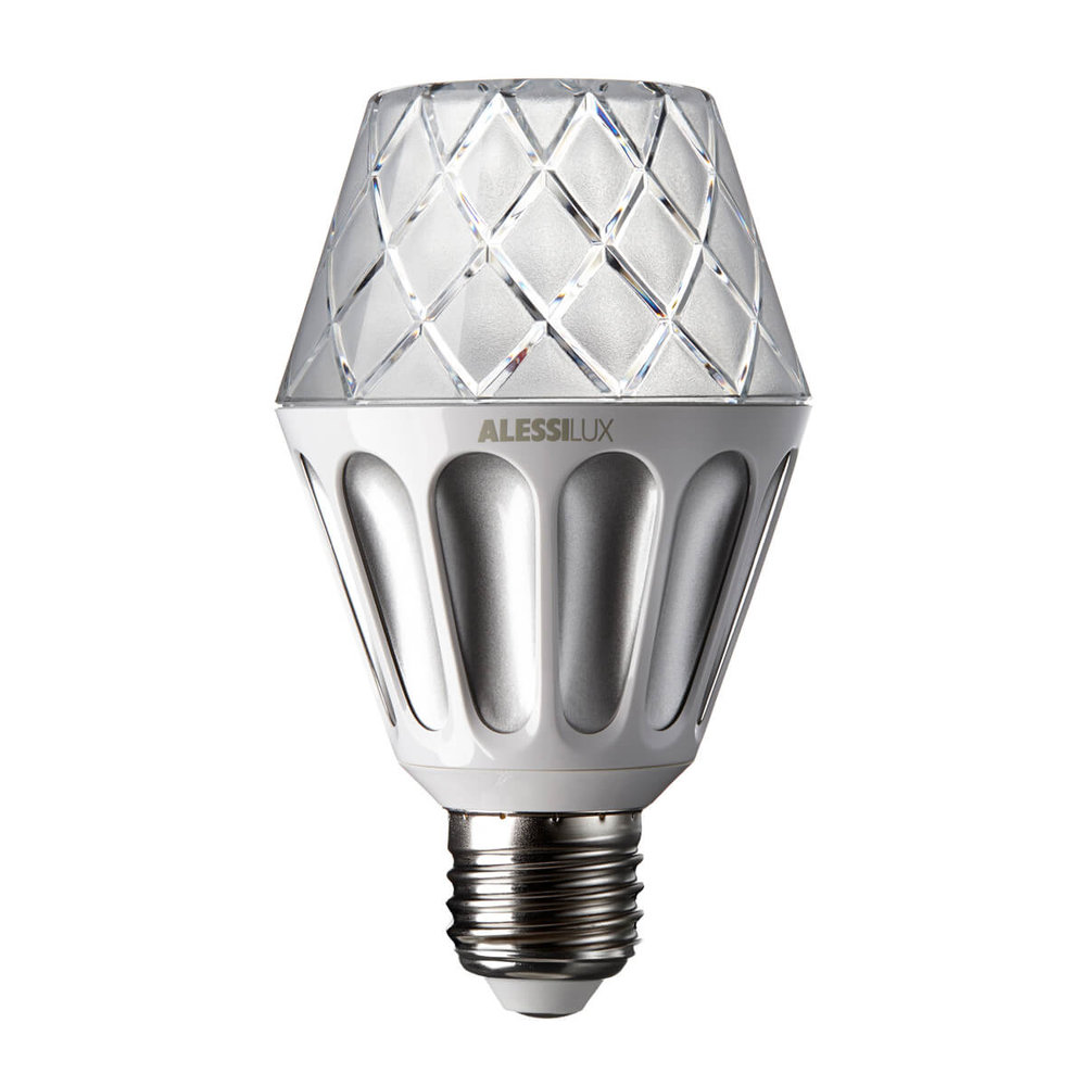 Vienna, LED light bulb for Alessilux silver