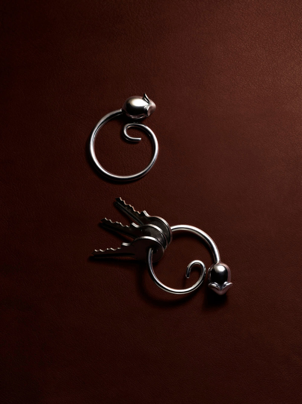 Pip, the key chain for Alessi