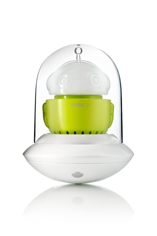UFO, portable LED lamp for AlessiLux green