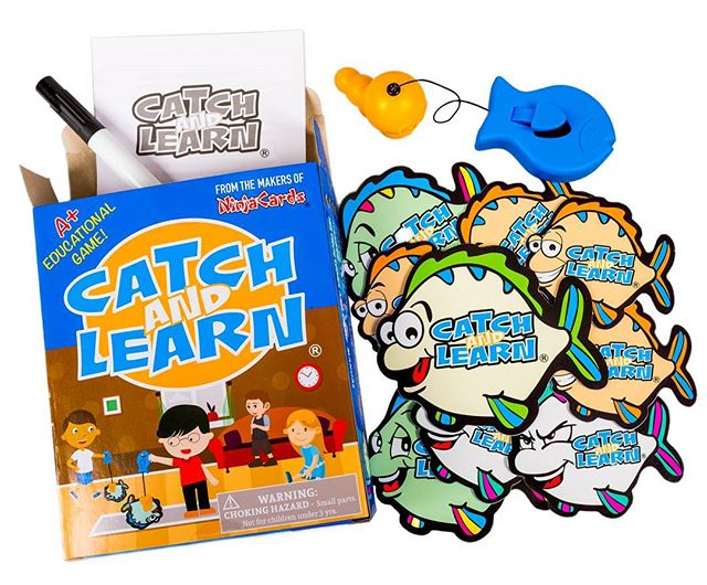 Contact us for FREE GAMES! Looking for teachers/parents to review our game. #catchandlearn is the best educational fishing game! It includes 10 Dry-erase fish cards, retractable magnet fish catcher, and marker.  #teachersfollowteachers #education  #educationaltoys #fishing #parenting #toys #games