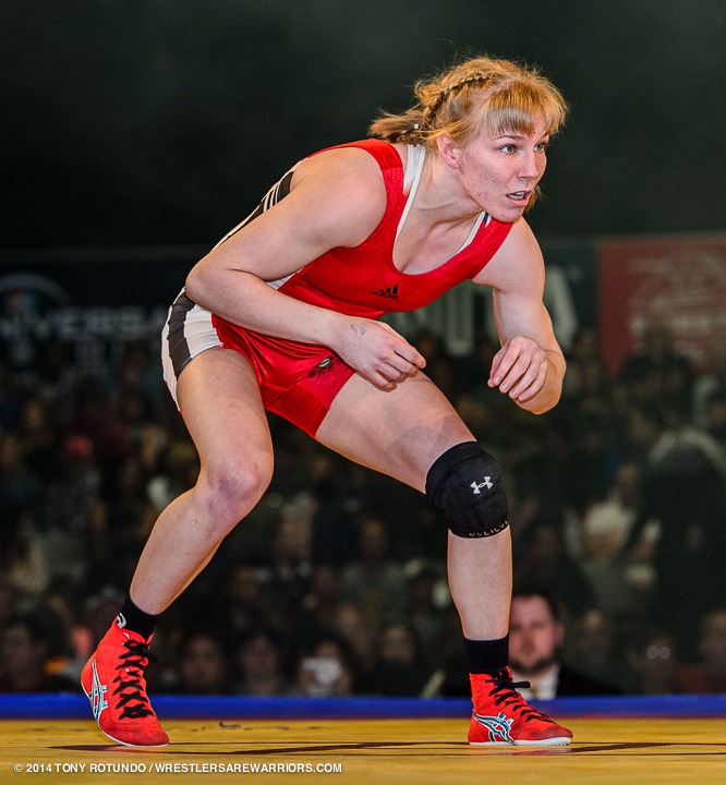Alyssa Lampe - U.S. Olympic Alternate, World Team Member, National Champion and former resident of the United States Olympic Committee Olympic Training Center.