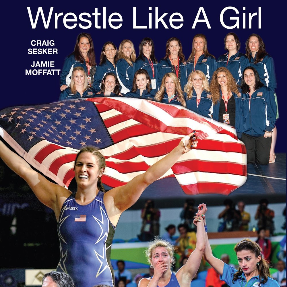 Wrestle Like A Girl - The first World team practice for the Unites States women's wreslting, in 1989, consisted of two wrestlers and one coach. Ever since, it's been a long, adversity-filled battle for women's wrestling to become established on the international scene. From pioneers Afsoon Roshanzamir, Tricia Saunders and Kristie Marano to current stars Adeline Gray and Helen Maroulis, heroes have emerged in a battle to overcome stereotypes, discrimination and other obstacles to become a fixture in the Olympic program. Twelve years after the U.S. nearly had its first Olympic champion, Maroulis came through in 2016 to knock off arguably the greatest female wrestler of all time - Japan's Saori Yoshida. It showed that gold medal dreams can come true. This book tells the story of the trailblazers - and the new breed they inspired. Purchase the book through Amazon or click the link HERE to be redirected. 100% of the proceeds from Wrestle Like A Girl go towards Wrestle Like A Girl, Inc.  Make sure to purchase through Amazon Smile for continued to support of the Wrestle Like A Girl Foundation!