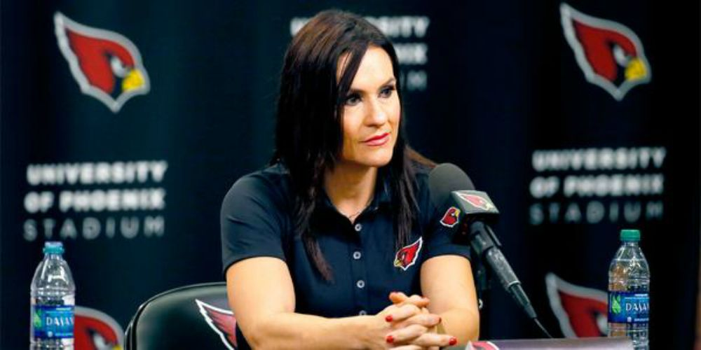 DR. JEN WELTER<BR> 1st Female Football Coach of the NFL