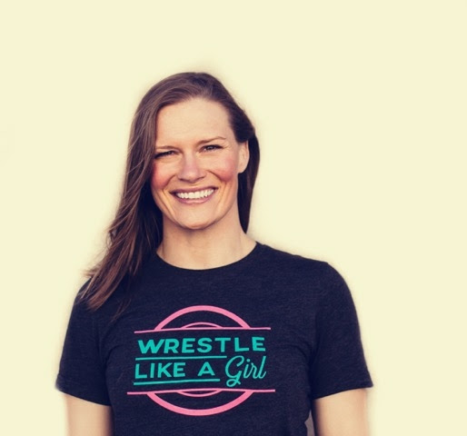 SALLY ROBERTS<BR>2X World Bronze Medalist in wrestling<BR>Founder Wrestle Like a Girl