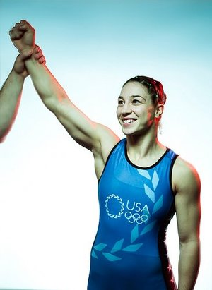 SARA MCMANN<BR>SPEAKER<BR>2004 Olympic Silver Medalist in Women's Wrestling<BR>and UFC fighter