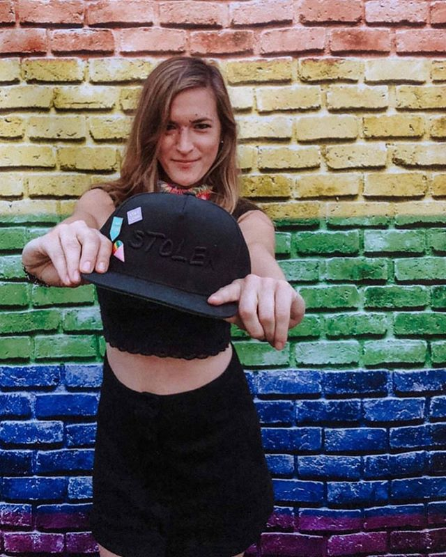 Huge thanks to @mollyadelebrown for partnering with us for Nashville's Pride festivities this weekend! #pride🌈 #thisisstolen #pridemonth