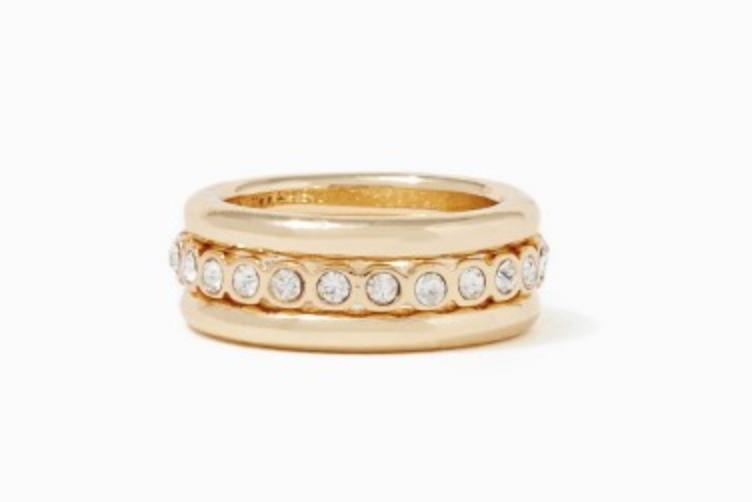 Charming Charlie Ring Set