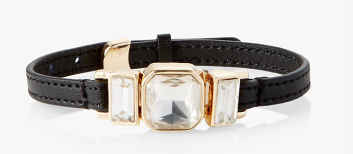 Express Leather Bracelet