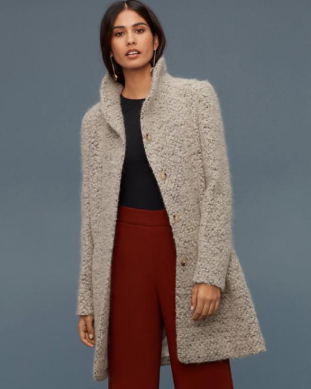Wool Coat, $350
