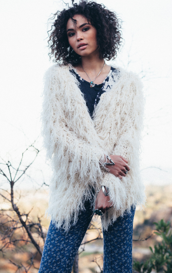 Fuzzy Cardigan, $163 (how dreamy is this?!)