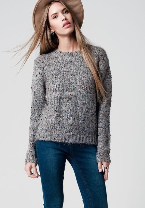 Sweater, currently sold out (way to go Luzzo!)