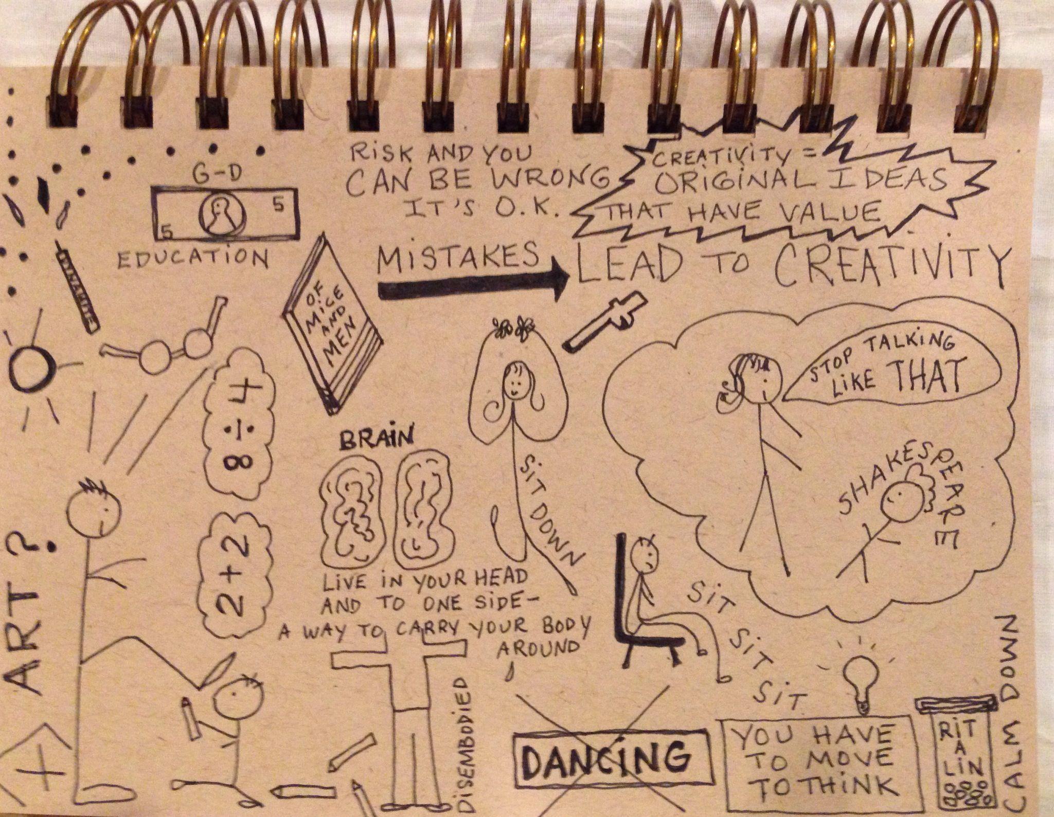 Doodle-How Schools Kill Creativity