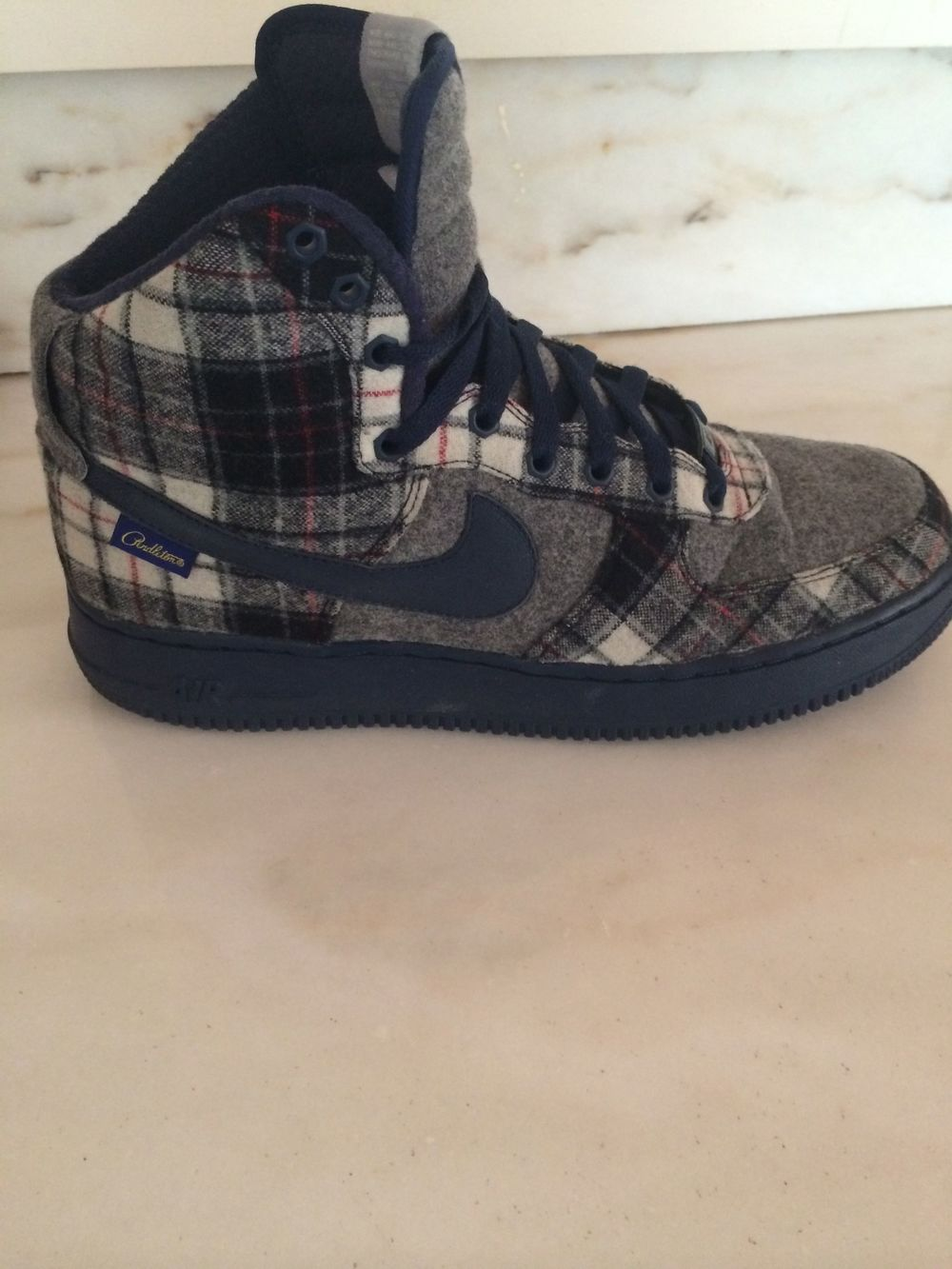 BLOG-GREY PLAID SNEAKER