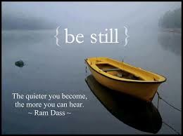 BLOG-BE STILL