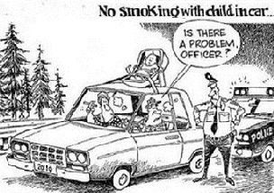 BLOG-NO SMOKING CHILD IN CAR