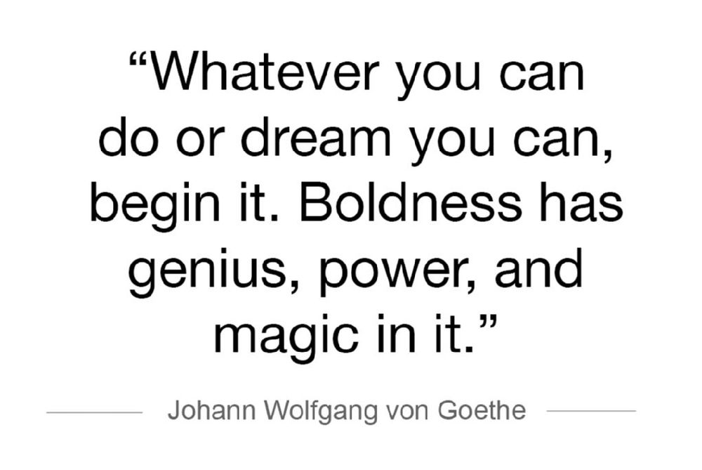 BLOG-GOETHE QUOTE