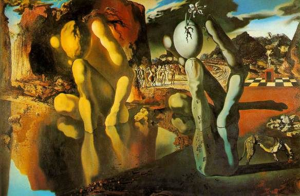 Salvador Dali, Metamorohosis of Narcissus.