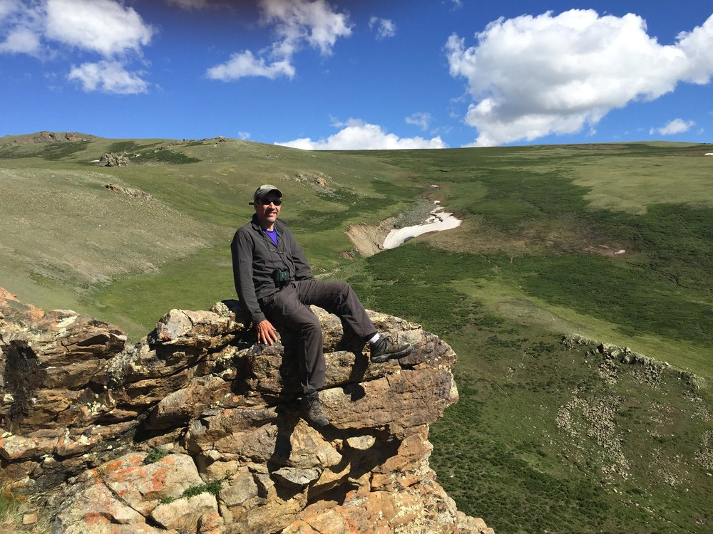 Dr. Carl Palazzolo, Director of Photography for The Twelfth Eagle, on location in Western Mongolia
