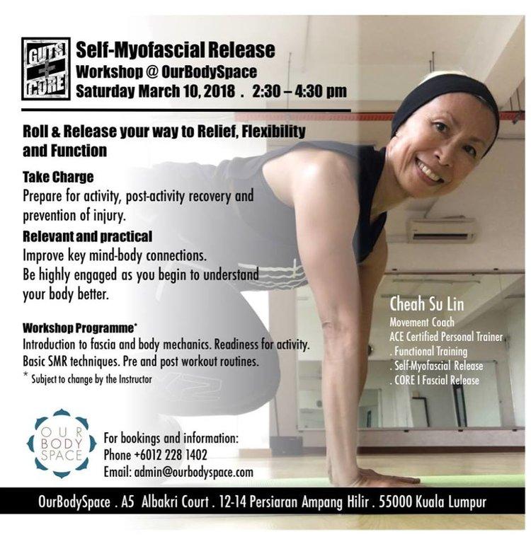 Self Myofascial Release Workshop Ourbodyspace