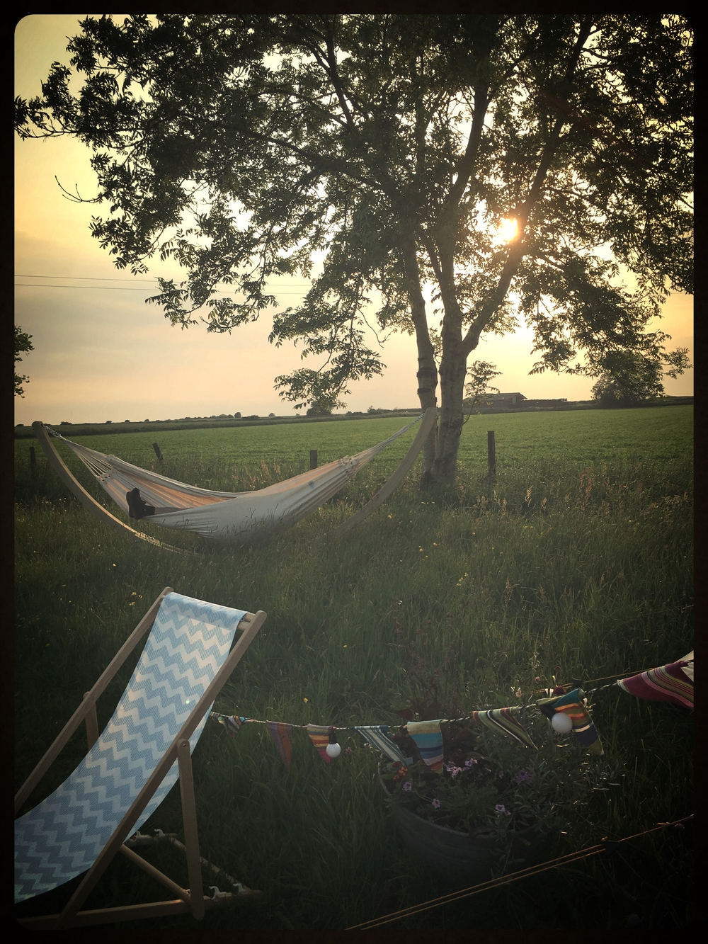 Huge hammocks for relaxing
